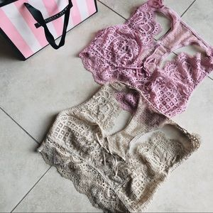 Victoria Secret Dream Angel Bralette Bundle Size S
